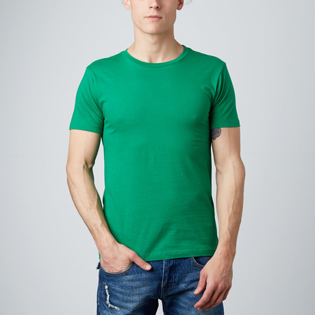 Combed Cotton Tee // Kelly Green (S)