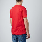Combed Cotton Tee // Red (S)