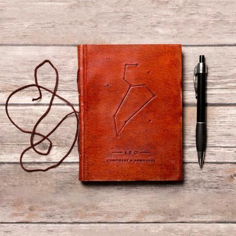 Handmade Leather Journal // Leo
