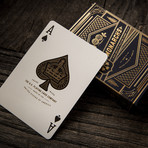 Monarch Playing Cards // Blue // Set of 2