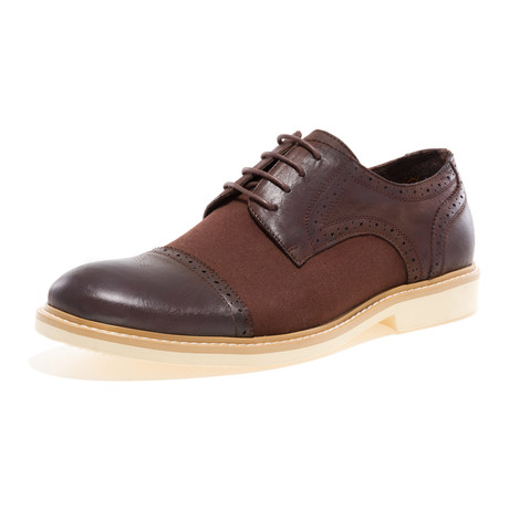 Boston Cap-Toe Brogue Derby // Dark Brown (US: 8)