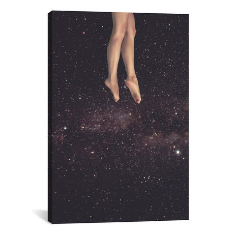 "Hanging In Space // Fran Rodriguez (26""W x 18""H x 0.75""D)"