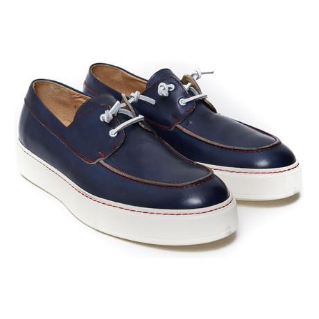 Boat Shoe Sneaker // Navy