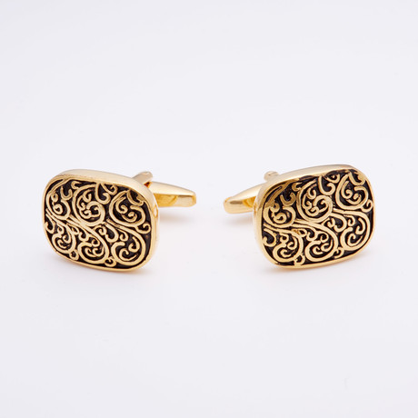 Golden Whimsy Cufflink
