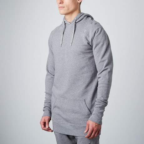 Longline Hoodie // Grey (S)