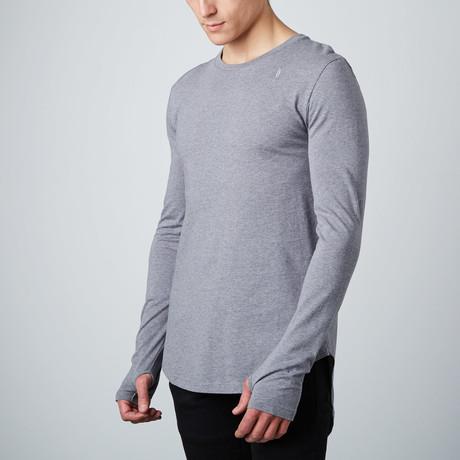 Essential Long Tee // Grey (S)