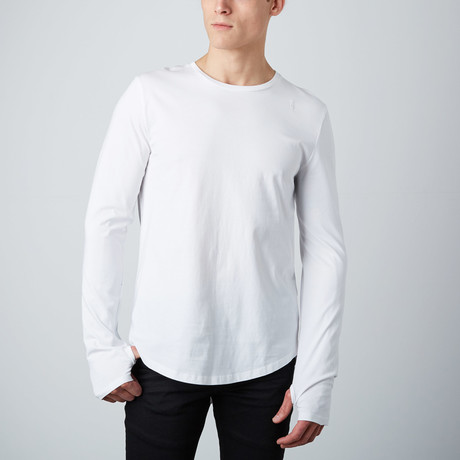 Essential Long Tee // White (S)