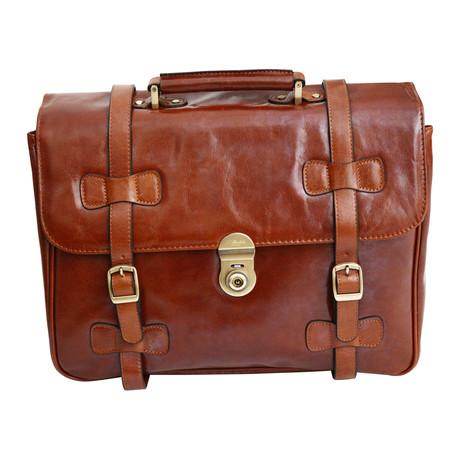Basillicata Flapover Briefcase