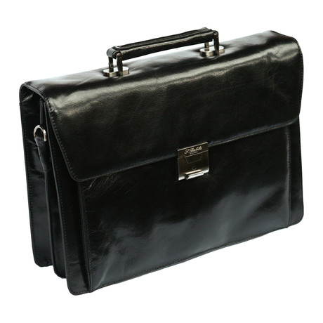 Romagna Flapover Briefcase