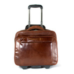 Tuscany Laptop Trolley (Dark Brown)