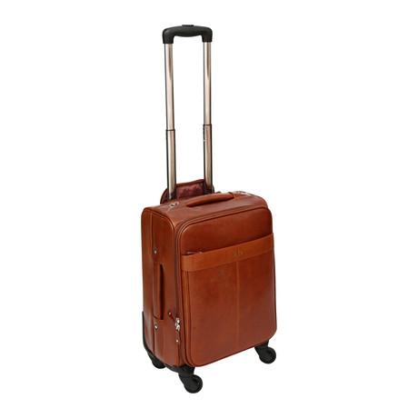 Compania 4 Wheel Cabin Case (Cognac)