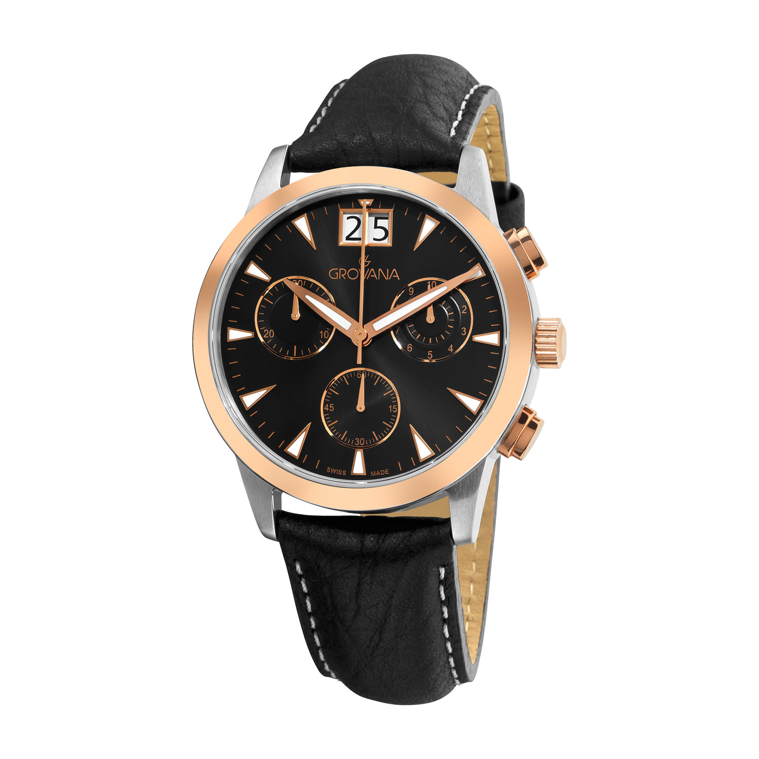 Grovana Chronograph Quartz // 1722.9557 - Grovana
