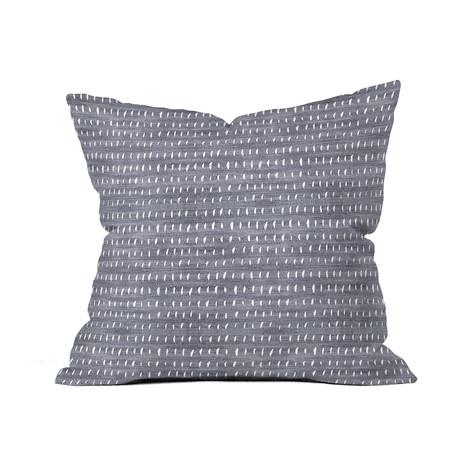 Bogo Denim Rain Light // Throw Pillow