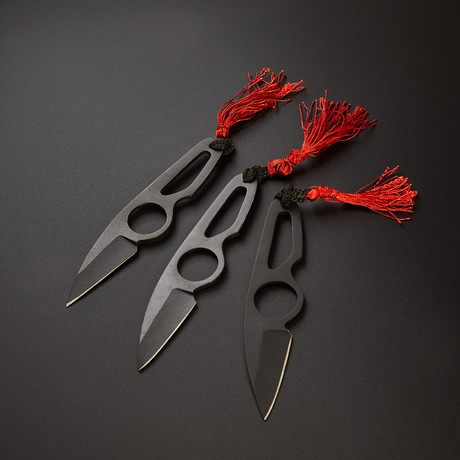 Throwing Neck Knives Set // NK-03
