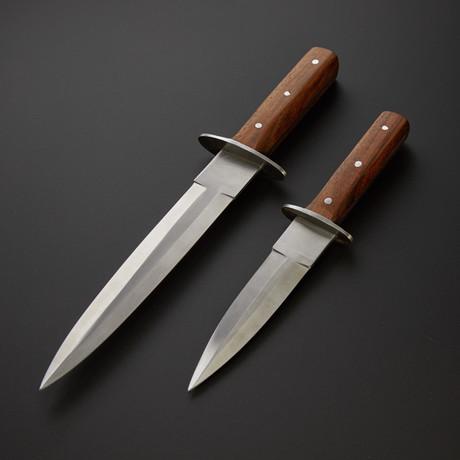 Boot Knives Set // BT-01