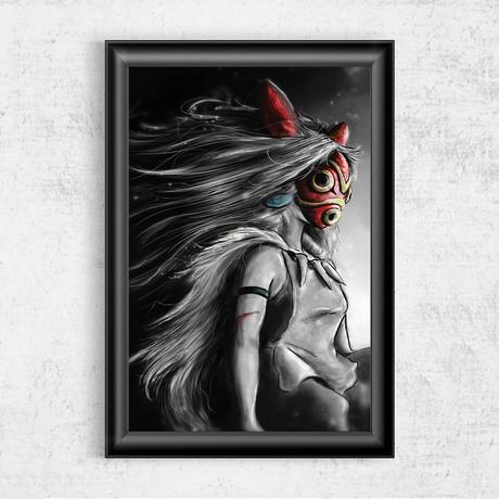 """Sans Fury Mononoke (11""""W x 17""""H)"""