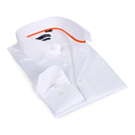 Solid Button-Up // White (S)