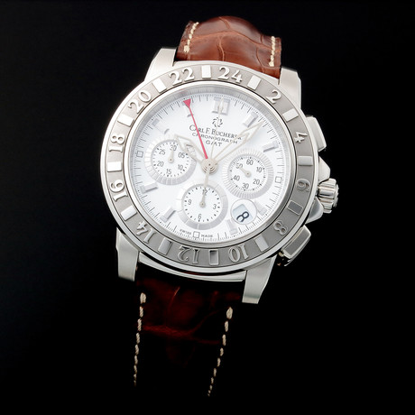 Carl F. Bucherer Patravi GMT Chronograph Automatic // 106150 // Pre-Owned
