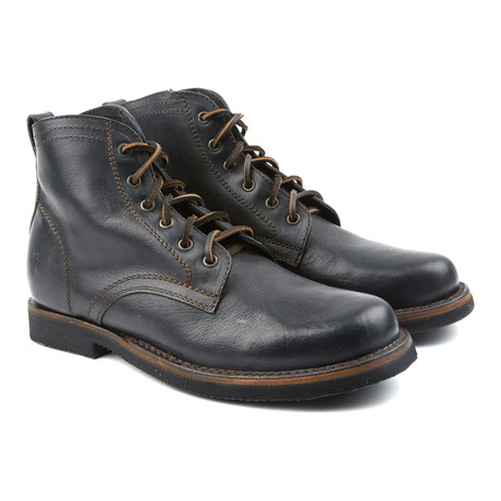 Roland Lace-Up Boot // Black