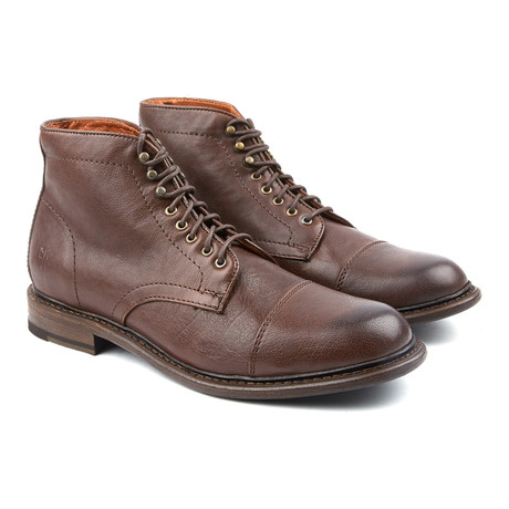 Jack Lace-Up Boot // Dark Brown