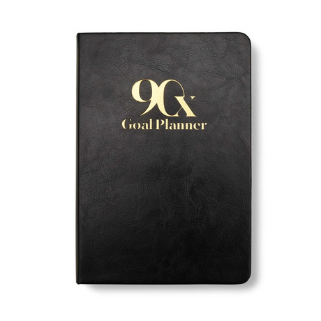 90-Day Goal Planner // Classic Collection (White)