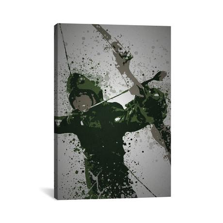 """Emerald Archer (26""""W x 18""""H x 0.75""""D)"""