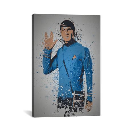 "Live Long And Prosper (26""W x 18""H x 0.75""D)"