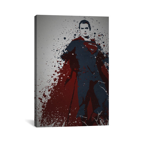 "Man Of Steel (26""W x 18""H x 0.75""D)"