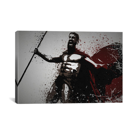 """This Is Sparta! (26""""W x 18""""H x 0.75""""D)"""
