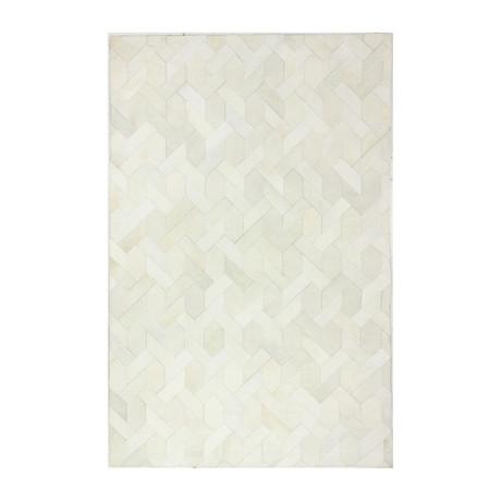 Ethan // White (5' x 8')