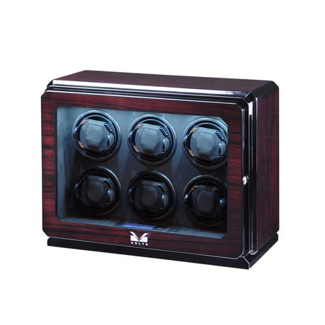 6 Watch Winder // Roadster Collection (Rosewood)