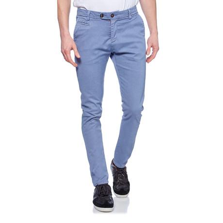 Printed Skinny Trouser // Denim