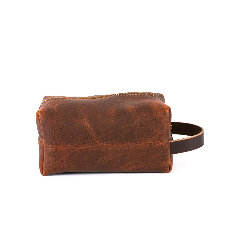 Leather Dopp Kit (Black) - Go Forth Goods - Touch of Modern 62e0e96690