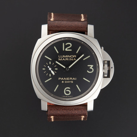 Panerai Luminor Marina 8 Days Manual Wind // PAM00510 // Pre-Owned