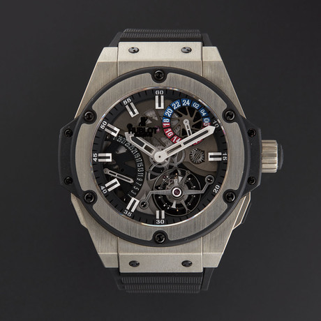Hublot King Power Tourbillon Manual Wind // 706.ZX.1170.RX // New