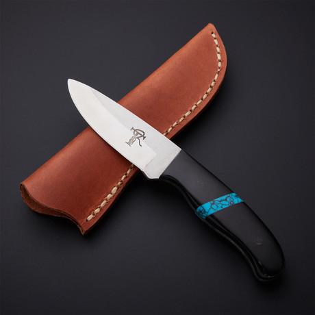 Three Finger Skinner // Buffalo Horn + Turquoise