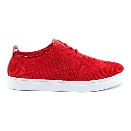 Venice Sneaker // Red + White (US: 7)