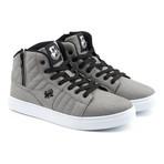 Midas Mid Sneaker // Gray + White (US: 9.5)