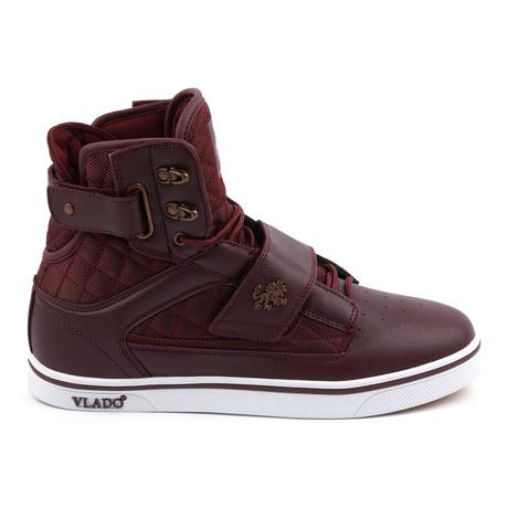 Atlas Sneaker // Burgandy + White (US: 7)