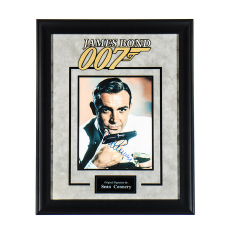 Signed + Framed Artist Series // Dr. No // Sean Connery