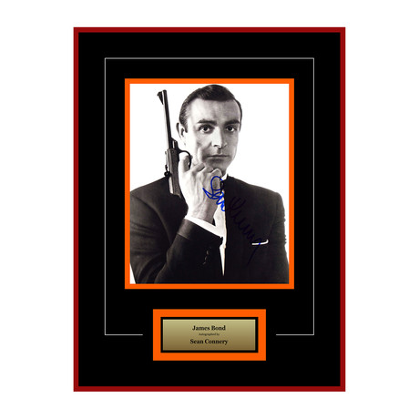 Signed Artist Series // James Bond // Sean Connery II