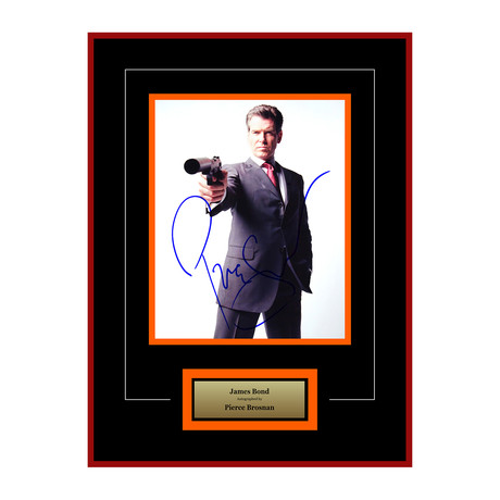 Signed Artist Series // James Bond // Pierce Brosnan II