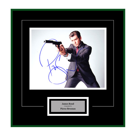 Signed + Framed Artist Series // Die Another Day // Pierce Brosnan II