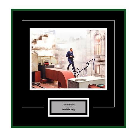Signed + Framed Artist Series // Skyfall // Daniel Craig III