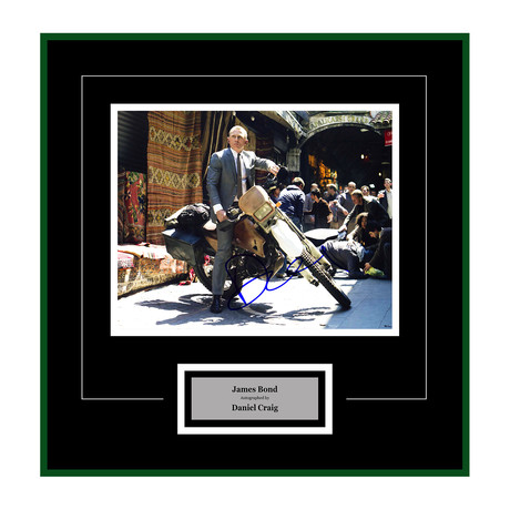 Signed + Framed Artist Series // Skyfall // Daniel Craig II