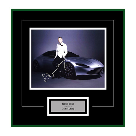 Signed + Framed Artist Series // Spectre // Daniel Craig I