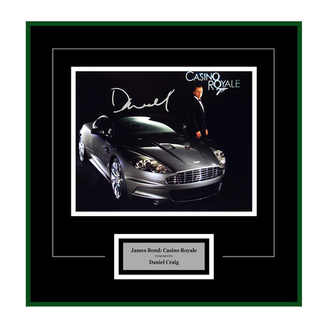 Signed + Framed Artist Series // Casino Royale // Daniel Craig I