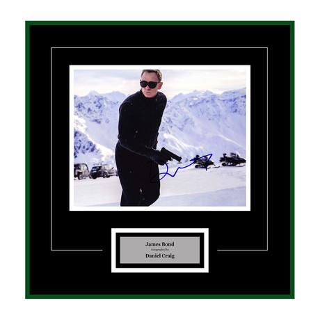 Signed + Framed Artist Series // Spectre // Daniel Craig II