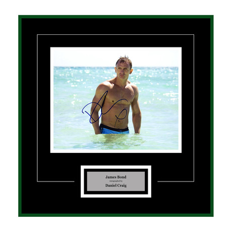 Signed + Framed Artist Series // Casino Royale // Daniel Craig II
