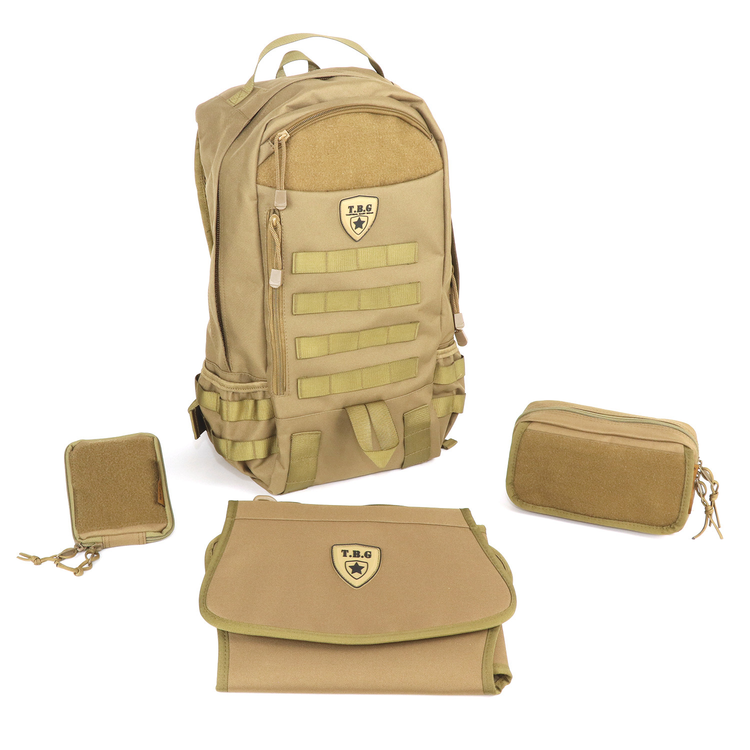 b9e66b62307 TBG DayPack 2.0 Combo Set (Coyote Brown) - Tactical Baby Gear ...